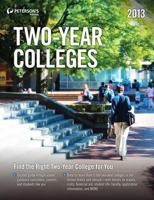 Two-Year Colleges 2012 - eBook  -     By: Peterson's