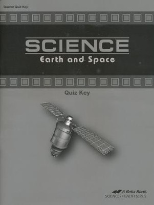 Science: Earth and Space Quiz Key    -