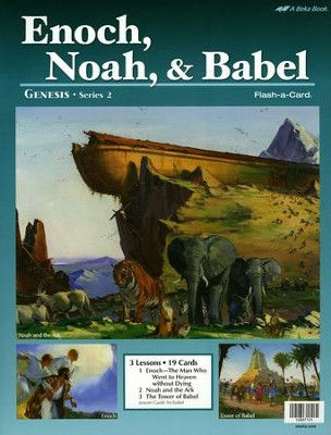 Abeka Enoch, Noah, & Babel Flash-a-Card   -