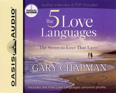 The Five Love Languages Audiobook On Cd