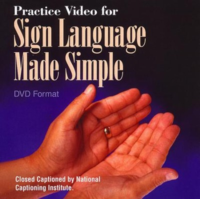 Sign Language Made Simple DVD   -     By: Ruth Reppert