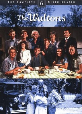 The Waltons: Season 6 DVD Set   -