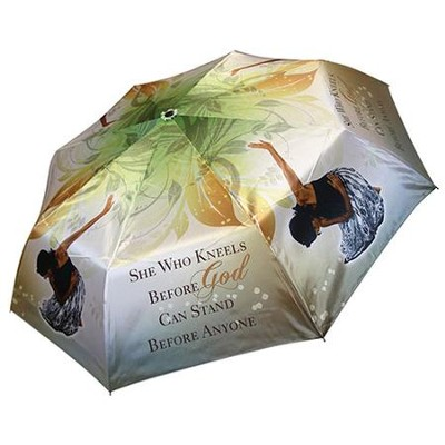 She Who Kneels Before God Umbrella  -