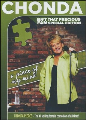 A Piece Of My Mind: Fan Special Edition, DVD   -     By: Chonda Pierce