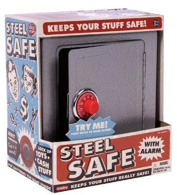Steel Safe with Alarm  -