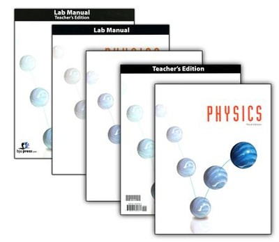 BJU Physics Grade 12 Homeschool Kit (Third Edition)    -