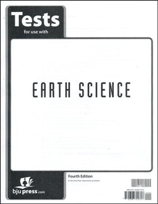 BJU Earth Science Grade 8 Test Pack (Fourth Edition)    -
