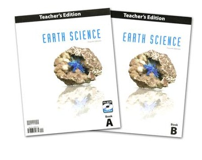 BJU Earth Science Grade 8 Teacher's Edition with CD-ROM  (Fourth Edition)  -