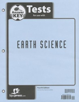 Bju earth science grade 8 test pack answer key 4th edition bju earth science grade 8 test pack answer key 4th edition fandeluxe Gallery