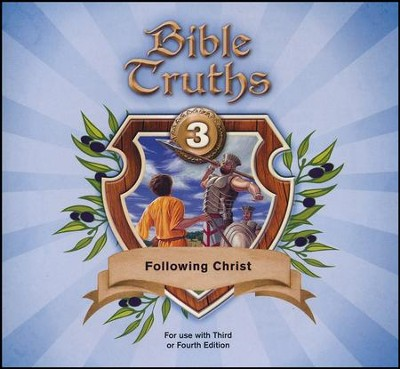 BJU Bible Truths Grade 3 Music CD (4th Edition)   -