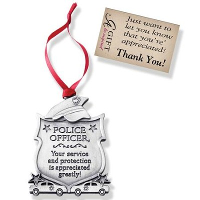 Police Office Ornament  -