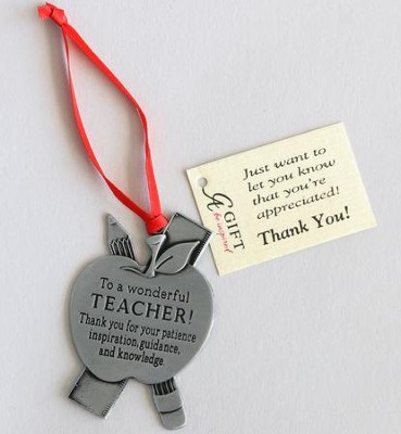Teacher Ornament  -