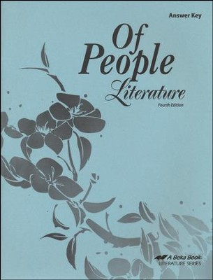 Of People: Literature Answer Key (New Edition)   -