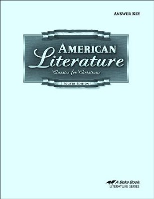 Abeka American Literature Grade 11 Answer Key   -