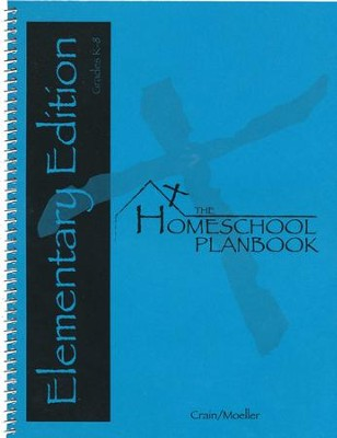 The Homeschool Planbook Elementary Edition    -     By: Crain Moeller