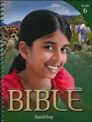 ACSI Bible Grade 6 Teacher's Edition, Revised   -