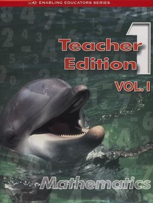 ACSI Math Teacher's Edition, Grade 1   -