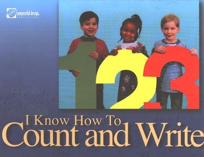 I Know How to Count and Write, Student Edition   -