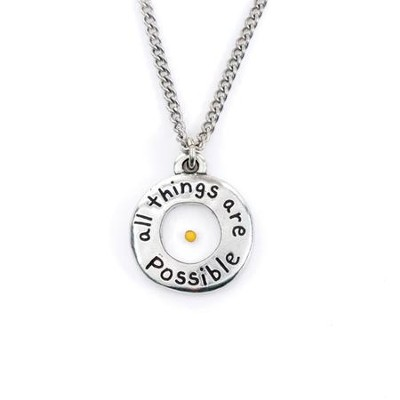 All Things Possible, Mustard Seed Pendant  -