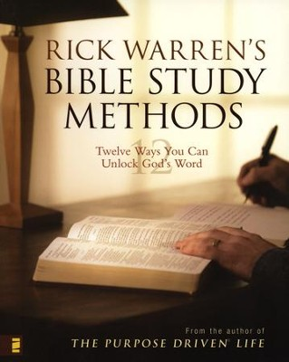 Rick Warren's Bible Study Methods: Twelve Ways You Can Unlock God's Word - Slightly Imperfect  -