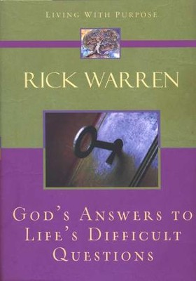 God's Answers to Life's Difficult Questions   -     By: Rick Warren