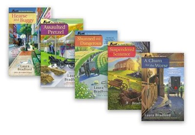 An Amish Mystery Series, Volumes 1-5  -     By: Laura Bradford