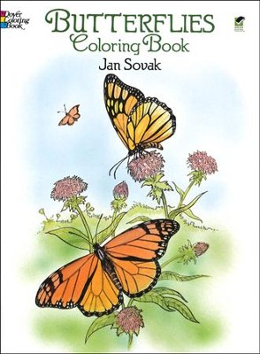 Butterflies Coloring Book  -     By: Jan Sovak