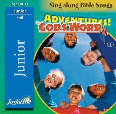 Adventures in God's Word Junior (Grades 5-6) Audio CD   -