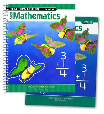 MCP Mathematics Level A, Grade 1, 2005 Edition, Homeschool Kit   -