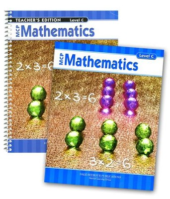 MCP Mathematics Level C, Grade 3, 2005 Ed., Homeschool Kit   -