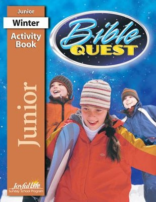 Bible Quest Junior (Grades 5-6) Activity Book   -
