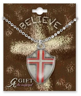 Shield Necklace   -