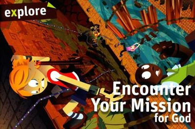 Encounter Your Mission for God (Explore Student Book 4)  -