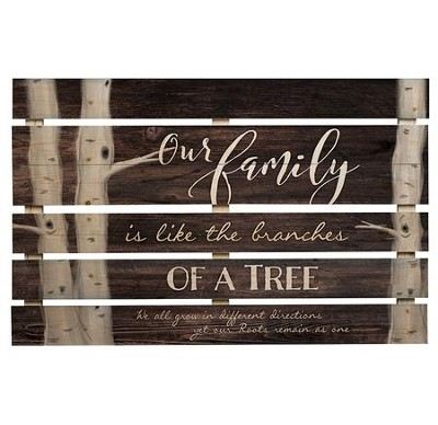 Our Family Is Like the Branches Of A Tree, Pallet Art  -