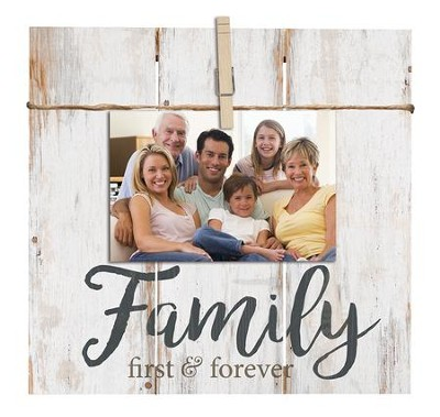 Family, First & Forever, Photo Clipboard  -