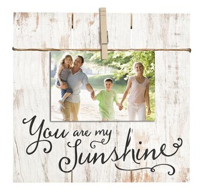 You Are My Sunshine, Photo Clipboard  -