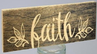 Faith, Stick Plaque, Small  -