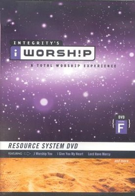iWorship Resource System DVD, Volume F  -