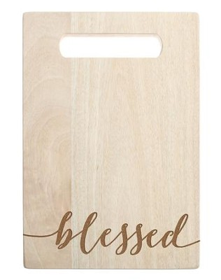 Blessed, Cutting Board  -