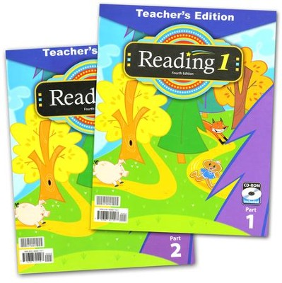 BJU Reading Grade 1 Teacher's Edition (Fourth Edition)    -