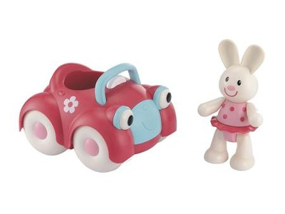 Toybox Rosie Rabbit and her Motor Car   -