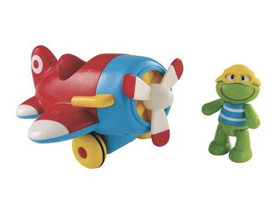 Toybox Frankie Frog and his Flying Machine   -