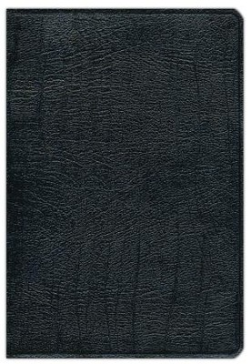 NKJV Scofield Study Bible, Reader's Edition, Genuine leather,  Black--Indexed - Slightly Imperfect  -