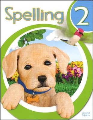 BJU Spelling 2 Student Worktext, Second Edition   -