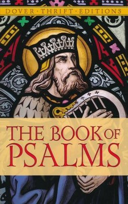 KJV Book of Psalms-Unabridged, Paper  -     By: King James Bible &  Dover Thrift Editions