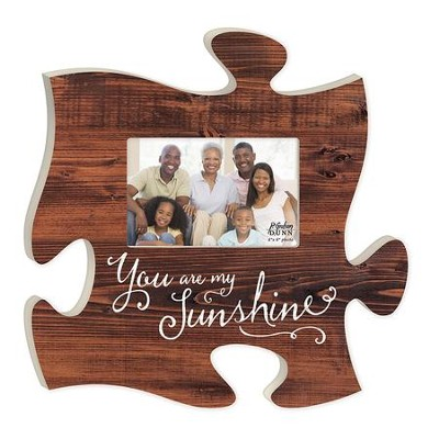 You Are My Sunshine, Puzzle Photo Frame  -