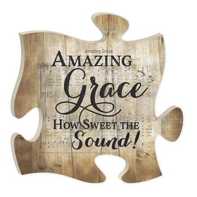 Amazing Grace, How Sweet the Sound, Puzzle Art  -