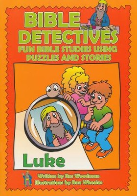 Bible Detectives: Luke  -     By: Ros Woodman