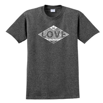 We Love First Shirt, Gray, Large  -