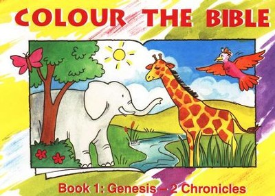 Colour the Bible Book 1: Genesis - 2 Chronicles    -